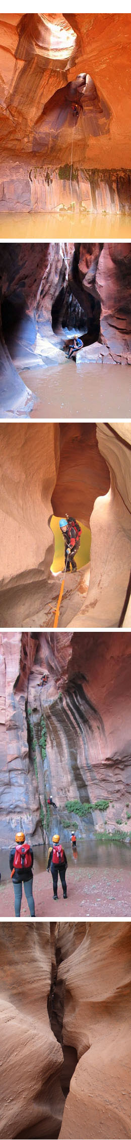 escalante canyoneering