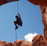 canoneering in arches np