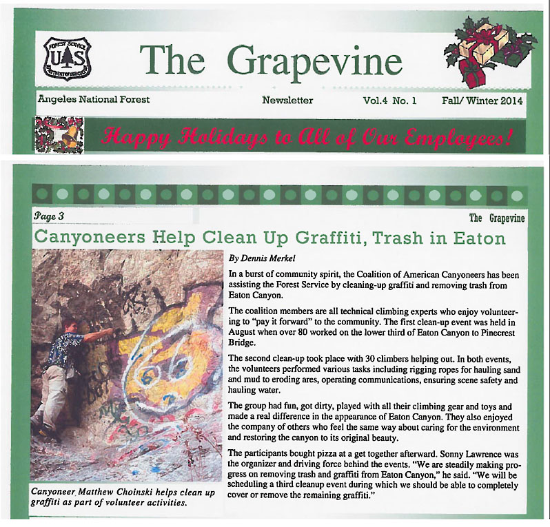 CAC Grapevine news